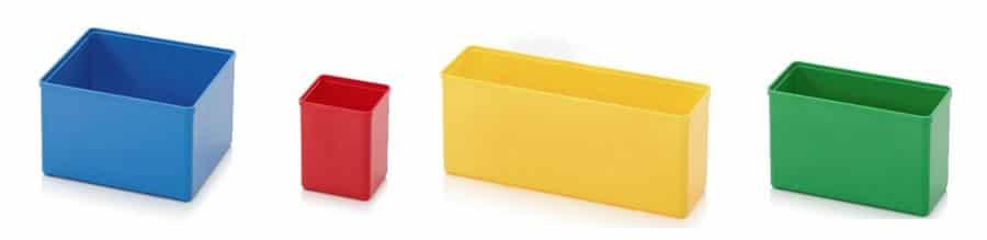 Cajas de color para kitting
