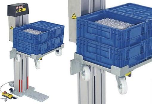 Elevadores de cajas
