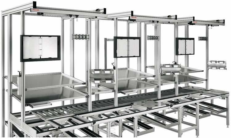 Líneas transfer y estaciones de montaje