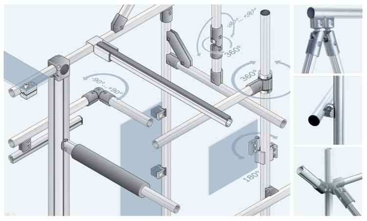 Beneficios de la perfilería de aluminio