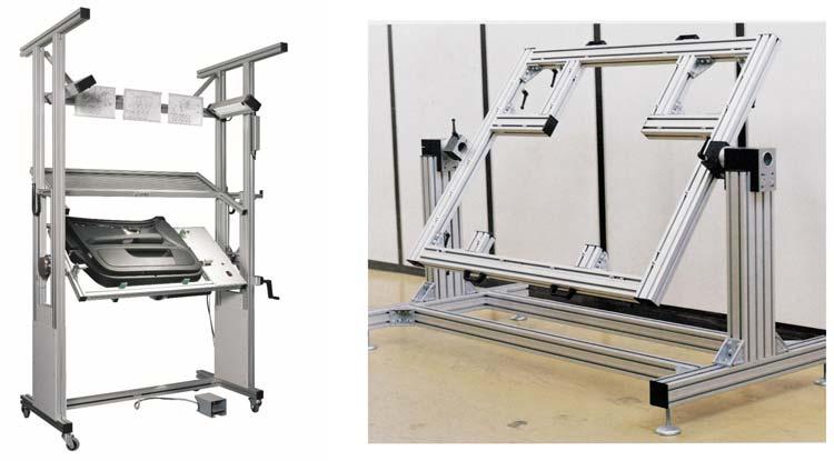 Soportes y bastidores de aluminio