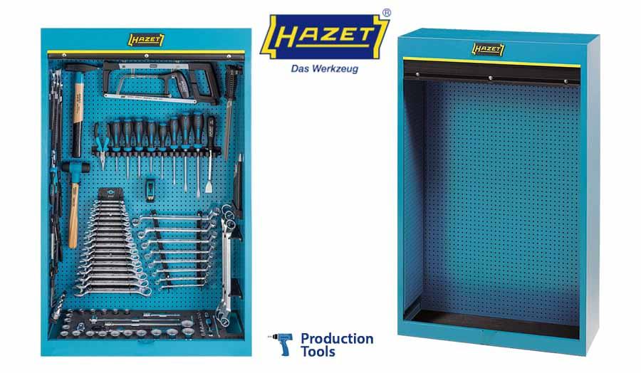 Armarios para herramientas - Equipamiento General de Taller Hazet - Logo Production Tools y logo Hazet