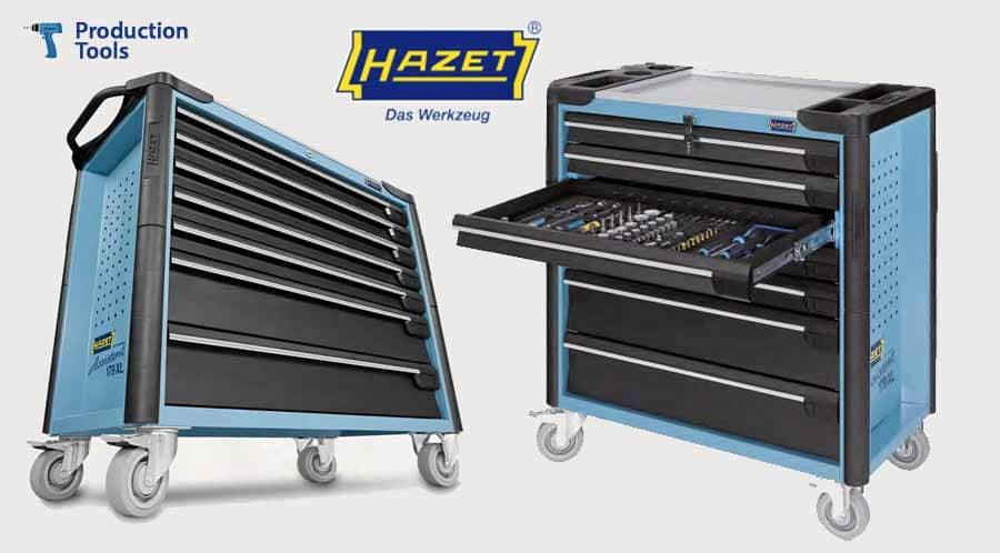 Carros de Herramientas - Equipamiento General de Taller Hazet - Logo Production Tools y logo Hazet
