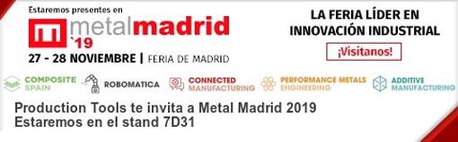 Visita a Production Tools en MetalMadrid 2019