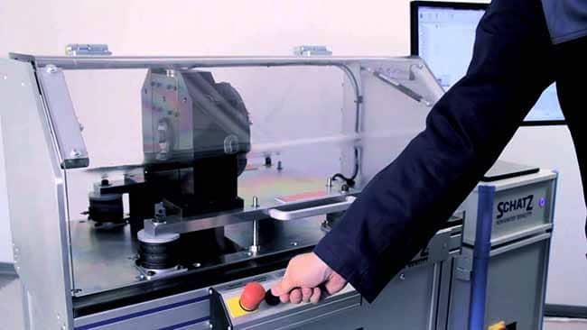Equipo de medicion portatil- Herramienta de medicion SCHATZ ANALYSE Vibration Test
