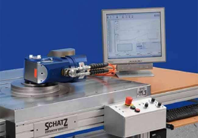 Calibracion de llaves hidraulicas - Herramienta de medicion SCHATZ HMP