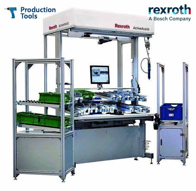 Rexroth ActiveAssist Puestos de montaje Inteligentes