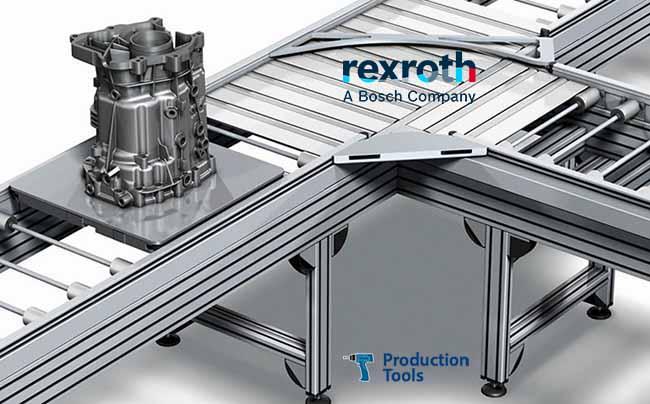 sistema transfer de rodillos para grandes cargas bosch rexroth
