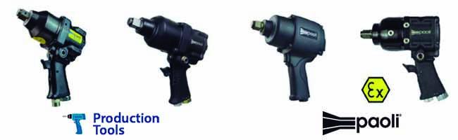 Llaves impacto tres cuartos pulgada Paoli Production Tools
