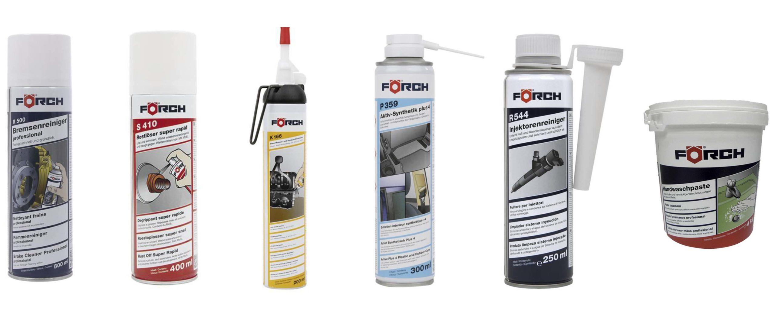Productos de limpieza y lubricación