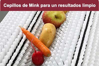 cepillo Mink para fruta
